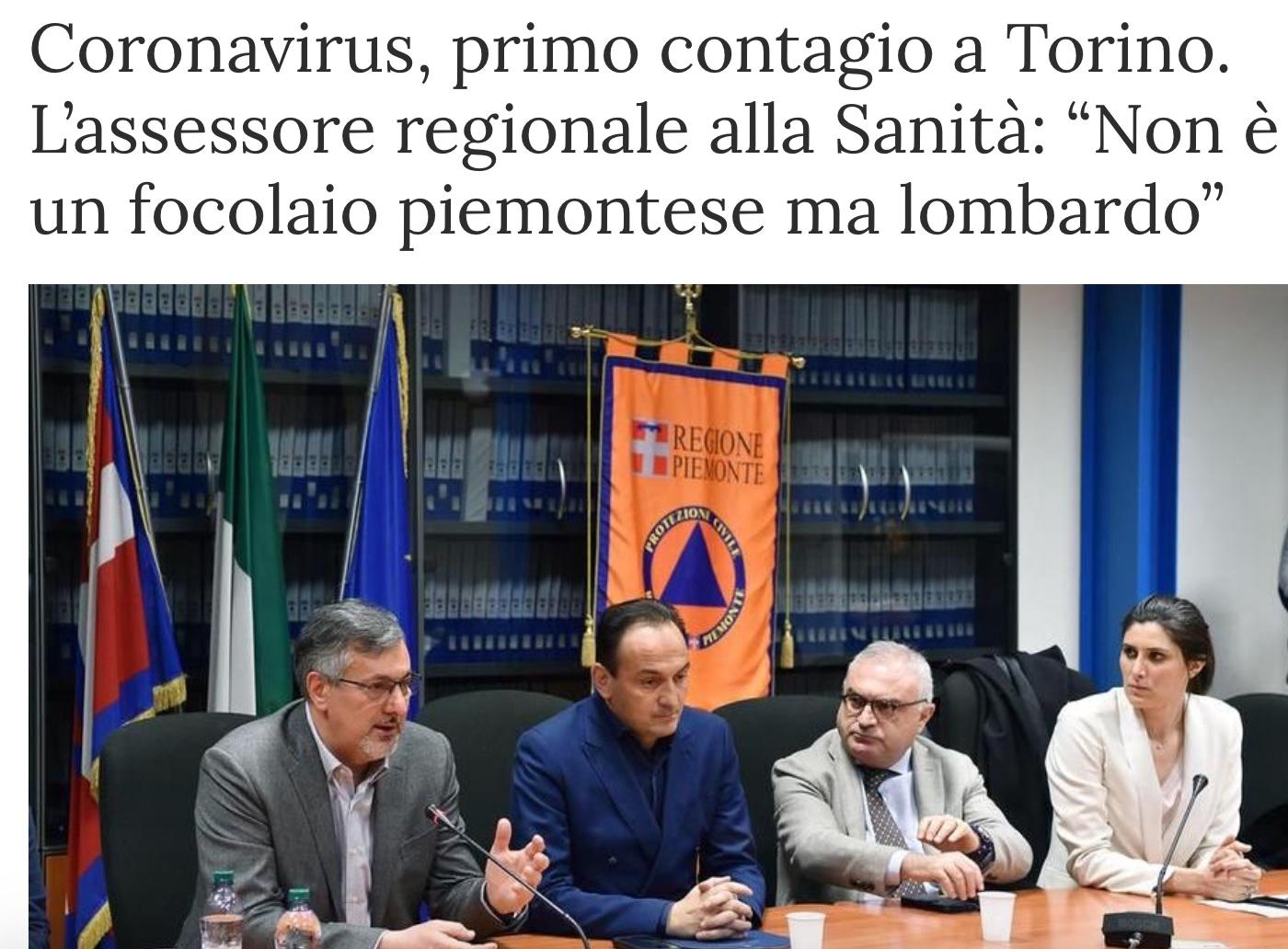 """Da """"La Stampa"""" sito web 22 febbraio"""